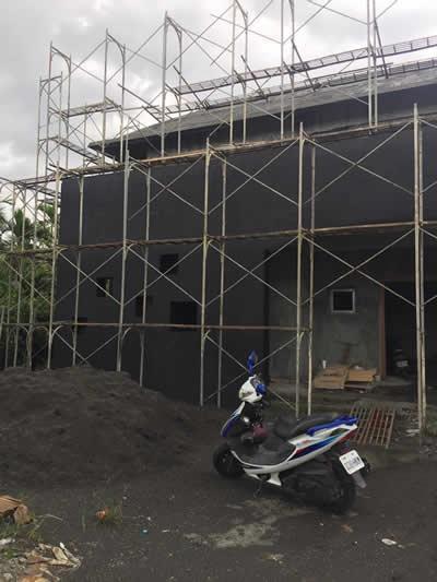 屏東房屋泥作-吊線及粗底-屏東泥作